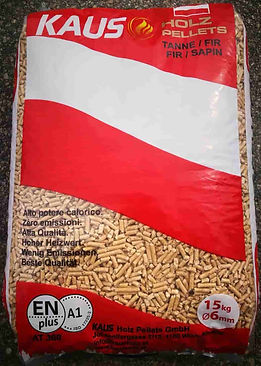 KAUS Holz Abet Bianco wood pellets