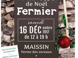 Marché Fermier de Noël à la Ferme des Sureaux