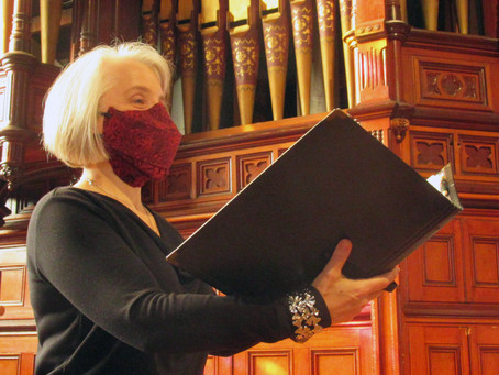 Joan Fearnley and Catherine Clase update advice to choir directors on singers' masks