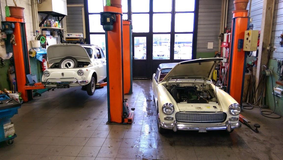 Fiat 500 / Austin Healey