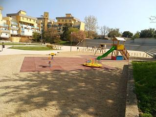 Sassari Nuovo parco giochi Piazza Dettori .