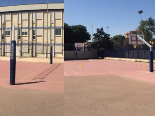 Convitto Nazionale , ultimati i lavori di ripristino impianto basket e Volley . Tutto pronto per il
