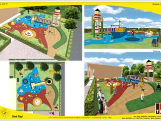 FORNITURE per Parco Giochi Inclusivo