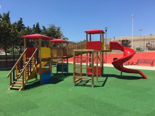 Pirri Cagliari Nuovo Parco giochi Piazza delle Acquile .