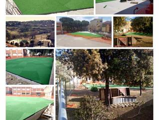 Comune di Monserrato - nuovi parchi giochi nelle scuole
