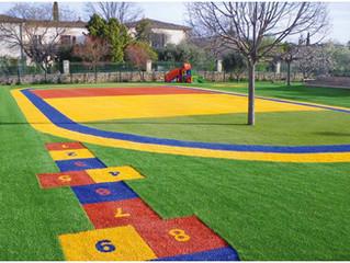 Dai colore al tuo giardino .Erba sintetica colorata per giardini privati e pubblici .