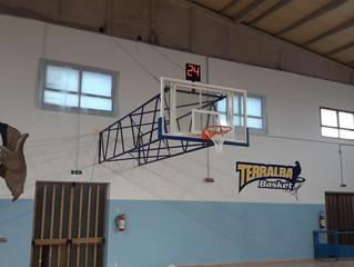 Palestra Terralba : Nuovo Impianto Basket costruito su misura .