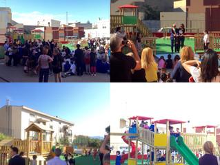 01.6.16 Inaugurazione Parchi Gioco Monserrato Via Monte Linas