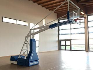Monserrato Nuovo impianto Basket Fiba .Palestra Comparto 8.