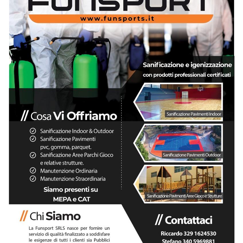 Sanificazione Funsport Indoor