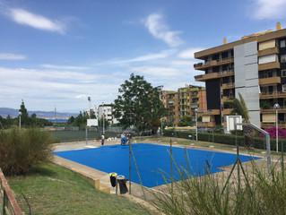 Campo Basket via Flavio Gioia Cagliari  .