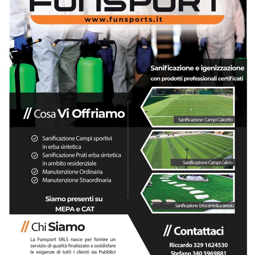 Sanificazione Funsport outdoor