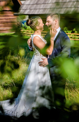 Piękna Pani Iwona w sukni z naszego salonu VALDI BRIDE #Kraków