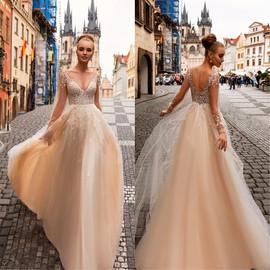 💞💞💞 Lekkie, bardzo efektowne i zjawiskowe suknie ślubne w naszym salonie VALDI bride Kraków.