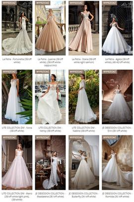Sample SALE Wedding Dresses VALDI BRIDE...