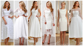 Krótkie suknie VALDI BRIDE#Kraków👗👗👗