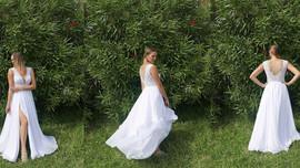 """""""...zdjęcia ze słonecznej Grecji w mojej pięknej sukni :) ...""""  🌞🌼🌸🌺 Piękna Pani Agnie"""