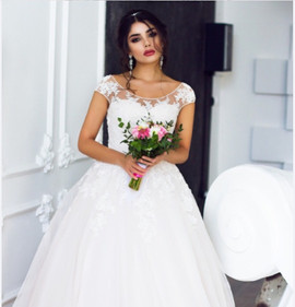 Cudowna panna młoda w sukni Mario!...