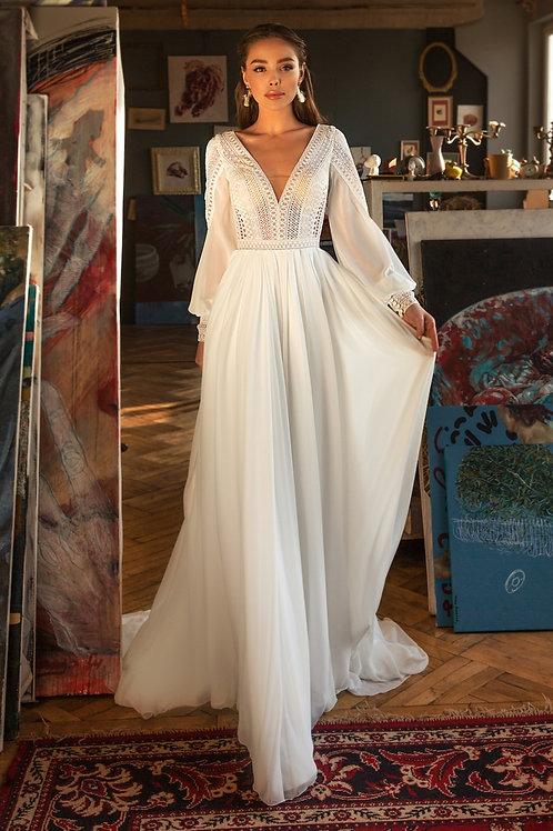 SALE! Rozmiar 44-46. Nowa suknia!  OSTATNIA SZTUKA w promocyjnej cenie!!!.