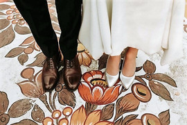 Szczęśliwa i zadowolona Pani Karolina w sukni VALDI BRIDE #Kraków