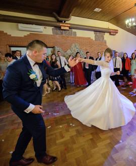 Piękna Pani Sylwia w sukni z naszego salonu VALDI BRIDE#Kraków