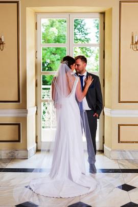 Piękna Pani Sandra w sukni z naszego salonu VALDI BRIDE