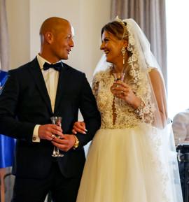 Nasza przepiękna Pani Marlena w sukni z naszego salonu VALDI BRIDE #Kraków 👩❤💋👨...