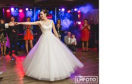 Szczęśliwa Pani Agata w sukni VALDI BRIDE #Kraków.