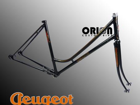 Vélo Vintage Peugeot revu et corrigé