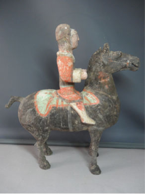 Earthenware Horse and Warrior