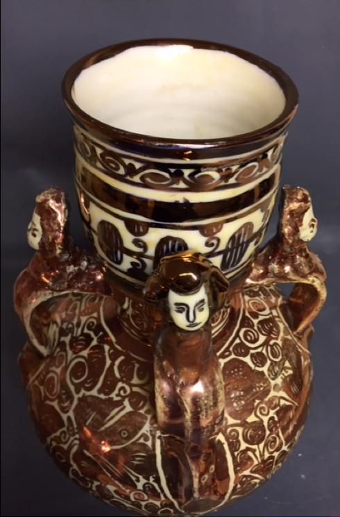 Spanish lustreware Manises 1770