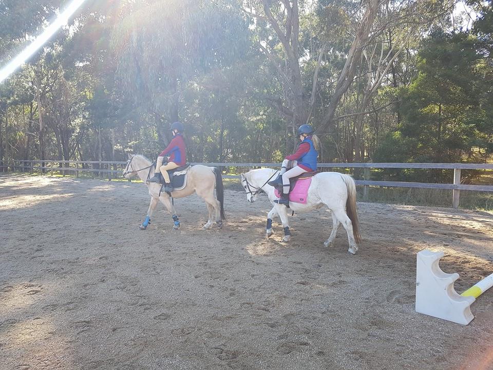 Macedon Pony Club side saddle rally day.