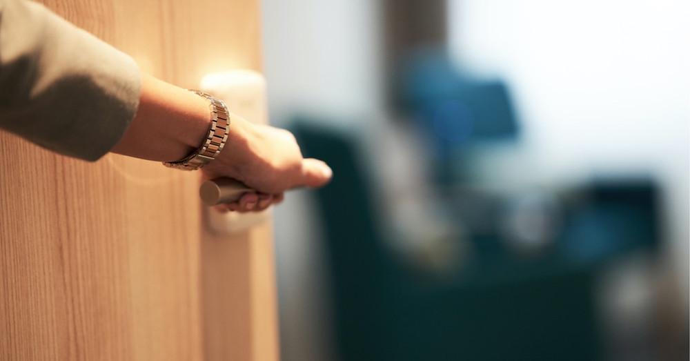 Open the door to new possibilities.