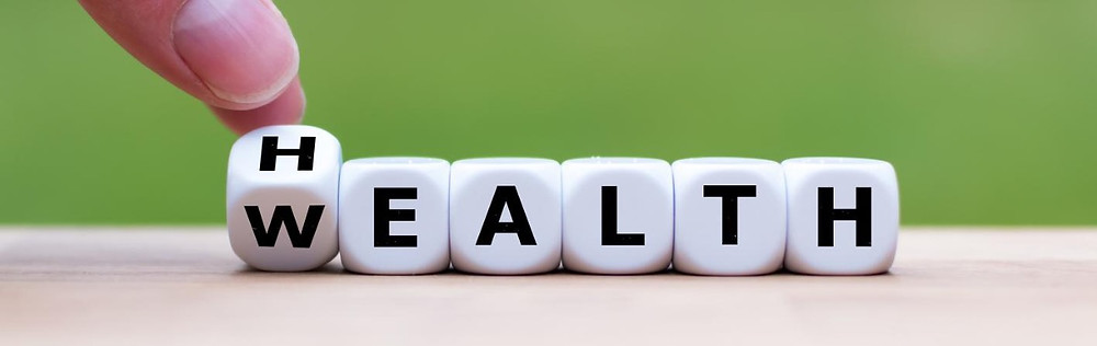 Maintain your health to enjoy your wealth.