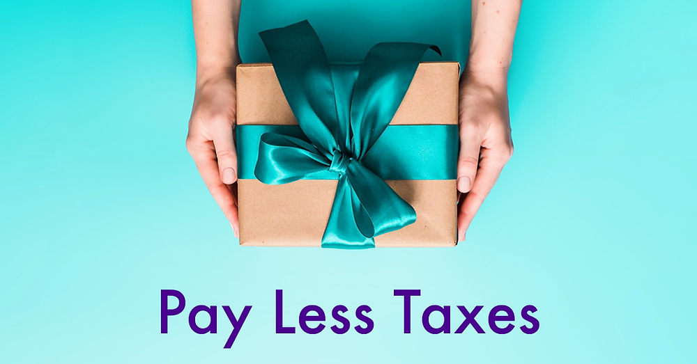 Pay less taxes through itemizing your deductions.