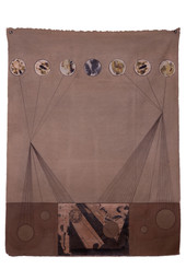 Untitled, 2012 Mixed media on canvas,  160 x 125 cm