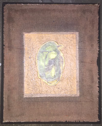 Untitled, 2012 Mixed media on canvas,  40 x 33 cm
