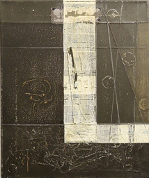 Untitled, 2012 Mixed media on canvas,  45 x 33 cm