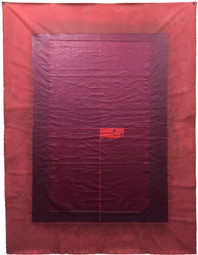 Untitled, 2013 Mixed media on canvas,  103 x 93 cm