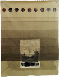 Untitled, 2013 Mixed media on canvas,  160 x 125 cm