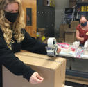 Volunteers at New Vision Depot