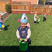 Easter Fun in our yard