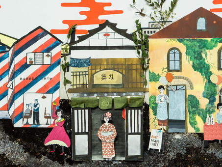 Korea-Japan creators exchange project Exhibition - 한국 아티스트의 눈으로 보는 일본의 문화, 예술.