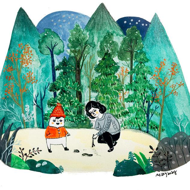 숲 속에서 In the Forest