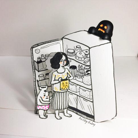 paper cut _ halloween