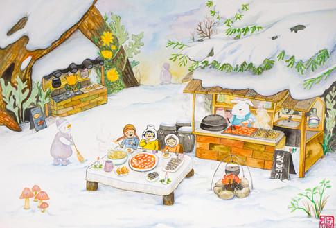 눈의 노래 The Song of the Snow