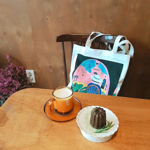 밀키베이비, 카카오 메이커스 '아티스트 콜라보' 한정 에코백 만들다 Milkybaby made Limited Ecobag with Kakaomakers