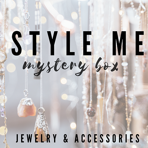 STYLE ME! Jewelry & Accessories Box