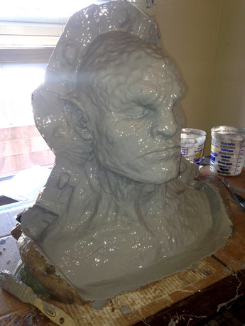 First later in epoxy to create mold & capture detail
