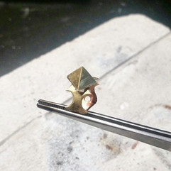 Handcrafted Brass Ring